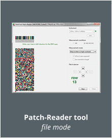 Patch-Reader tool file mode