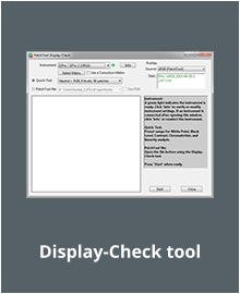 Display-Check tool