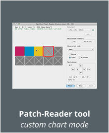 Patch-Reader tool custom chart mode