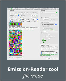 Emission-Reader tool file mode